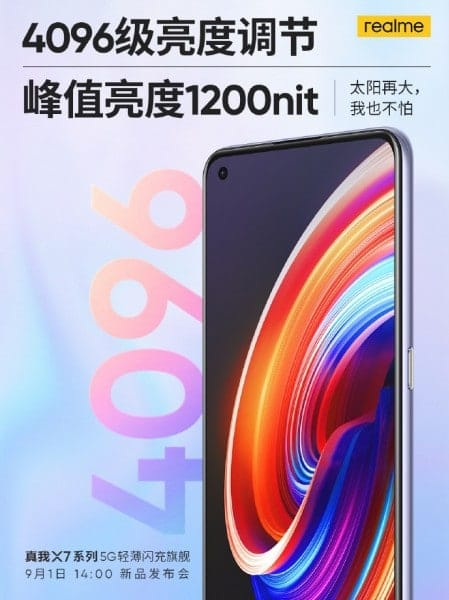 Realme leaked specifications of the highly anticipated X7 series