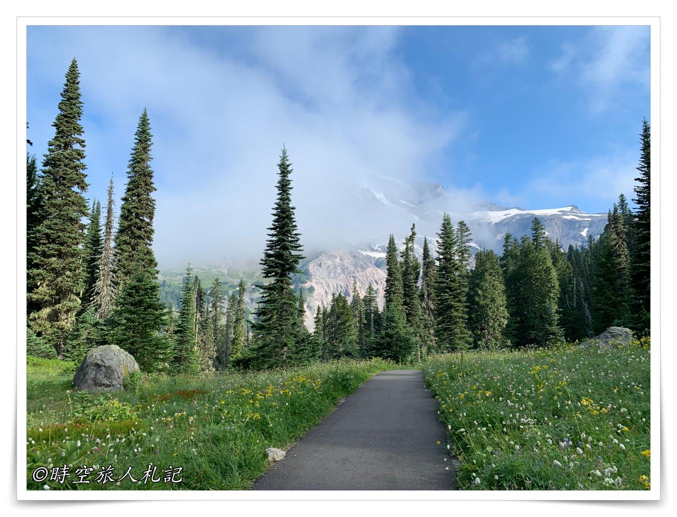 雷尼爾山國家公園Mt Rainier National Park 3日遊: Paradise Area – Mt Rainier Paradise Inn住宿心得、Nisqually Vista