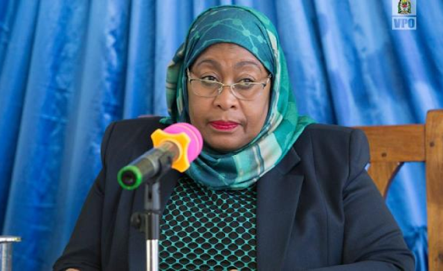 The Vice President, Ms Samia Suluhu Hassan