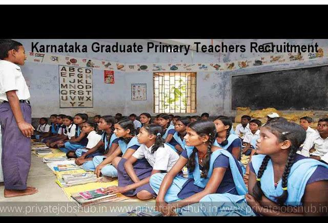 Karnataka Graduate Primary Teachers Recruitment
