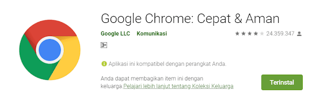 chrome stabil