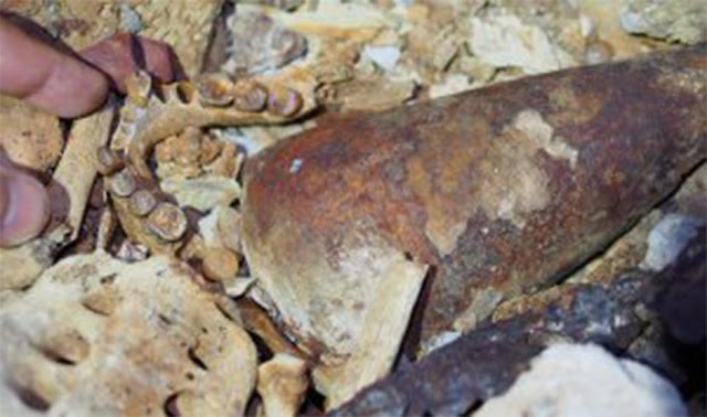 Rare Gabon burial cave reveals clues to African history