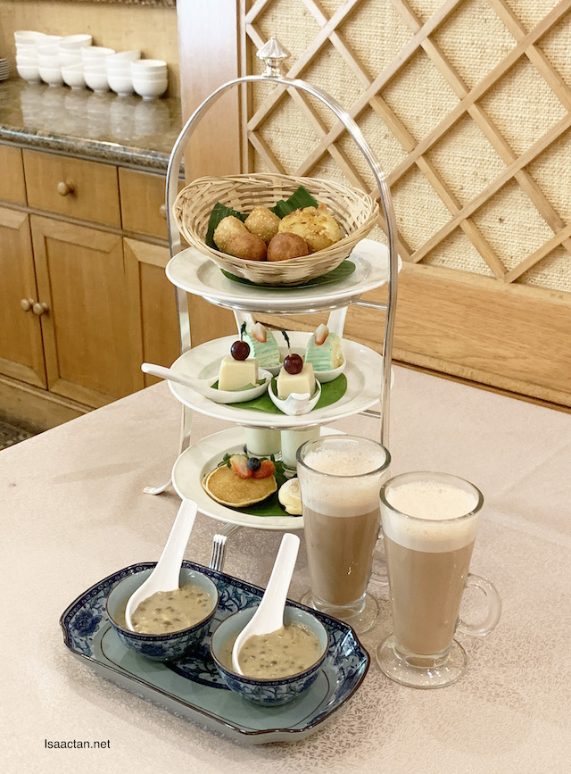 'All Things Durian' Afternoon Tea Set