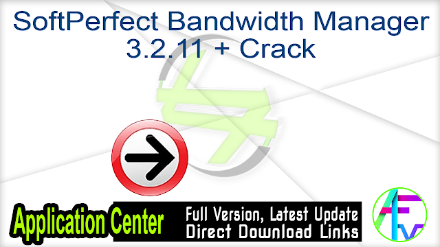 SoftPerfect Bandwidth Manager 3.2.11 + Crack