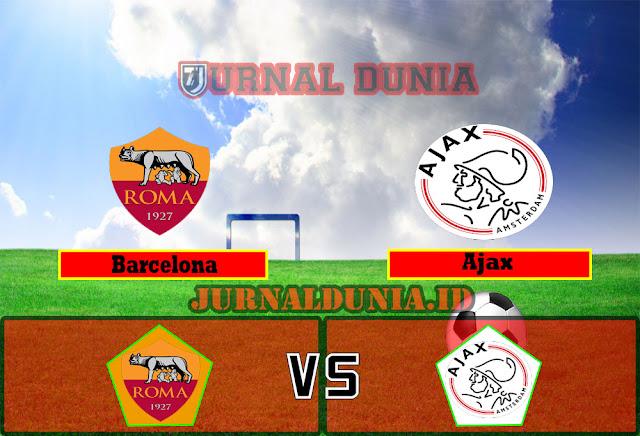 Prediksi Ajax vs Roma , Jumat 09 April 2021 Pukul 02.00 WIB
