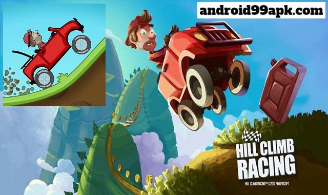لعبة Hill Climb Racing v1.45.1 مهكرة (بحجم 69 MB) للأندرويد