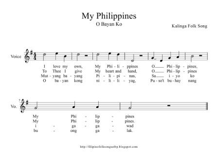 spanish folk songs in the philippines Although, geographically, the philippines belongs to the east, its music has been heavily influenced by the west owing to 333 years of spanish rule and 45 years of american domination music in the highland and lowland hamlets where indigenous culture continues to thrive has strong asian elements.