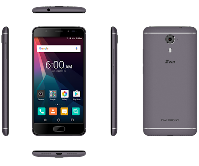 Symphony Xplorer ZVIII (Z8) Android Phone Specifications & Price