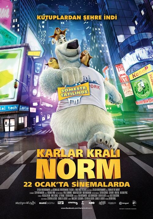 Karlar Kralı Norm (2016) Mkv Film indir