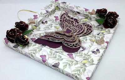 Mariposa paper pad, Positivelypapercraft