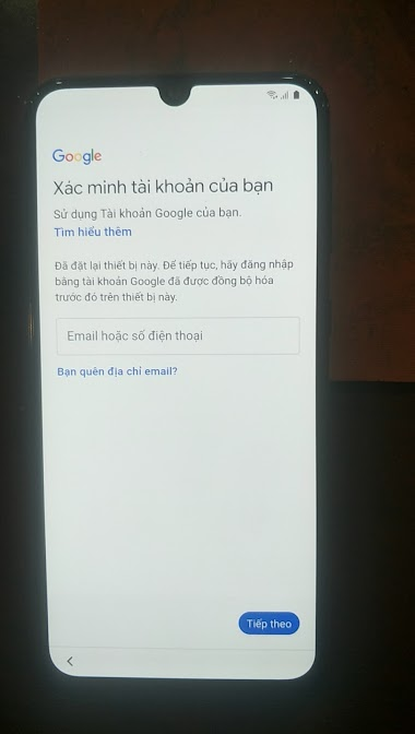 Galaxy M21 M215F Remove FRP - Gmail