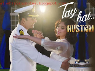 Yeh Tay Hai | Rustom | Piano Notes