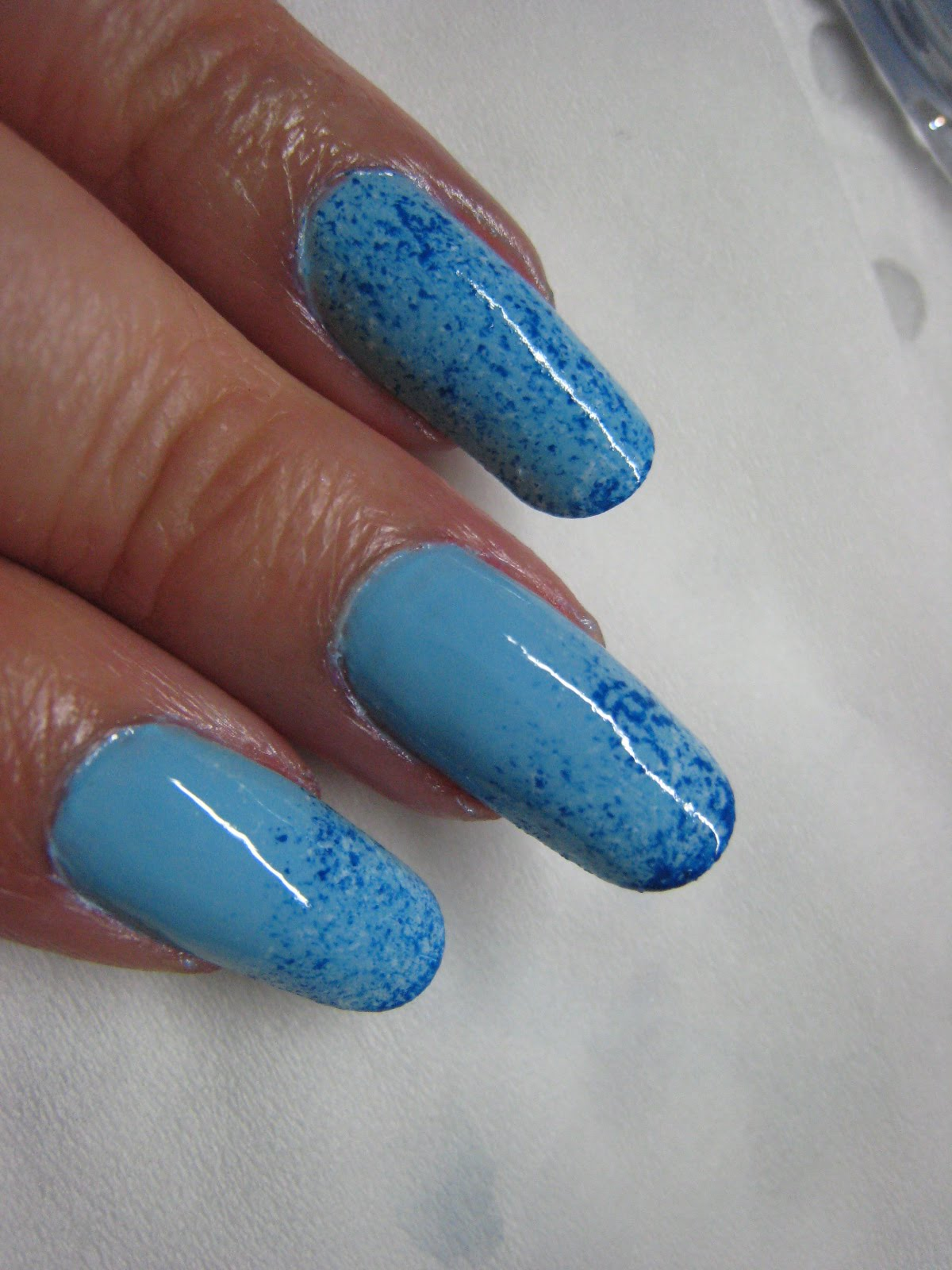 Nail Art: Unique Nail Art Polish : Blue Nail Design ...