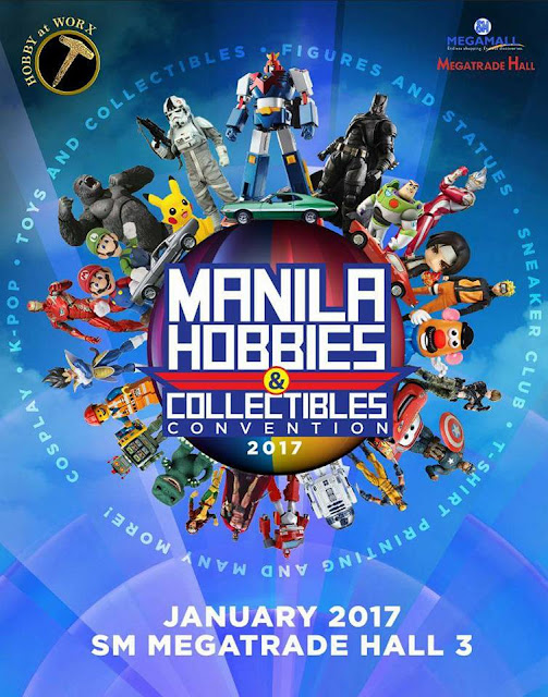 Manila Hobbies & Collectibles Convention 2017