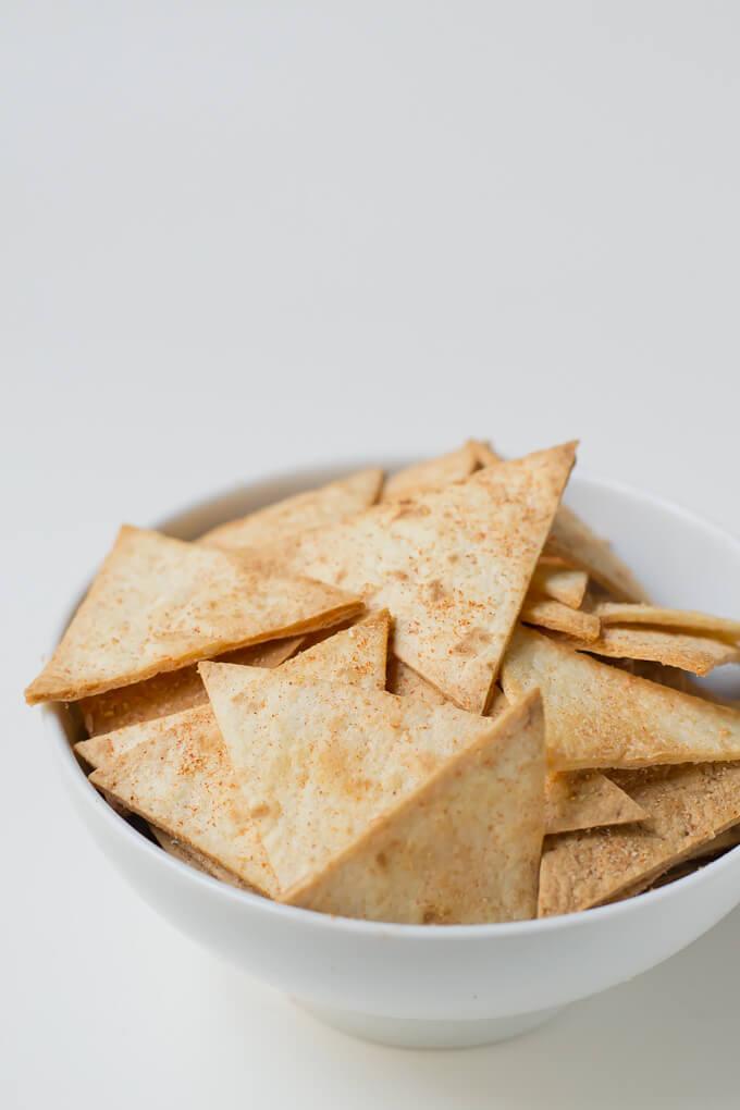 Homemade nachos via danceofstoves.com