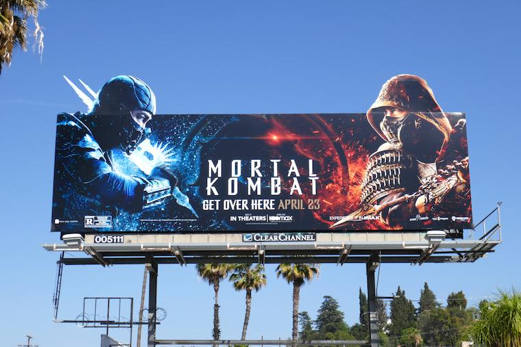 Mortal Kombat extension billboard