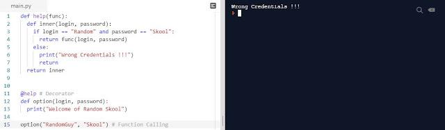 Python Programming 101 - Decorator   Function Parameter Passing