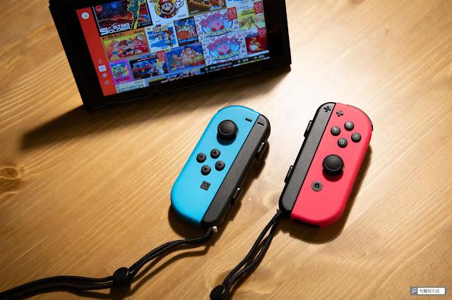 【生活分享】Switch Joy-Con 控制器腕帶「裝反」這樣處理 - 正確方向