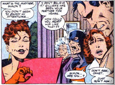 West Coast Avengers #56, page 17, final panel