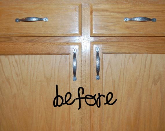 The Greatest Guide To Kitchen Reno Part 3: Painting Builder Grade Cabinets - Online ...