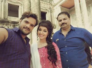 खेसारी की फिल्म ''जिला चंपारण'' की शूटिंग कोलकाता में
