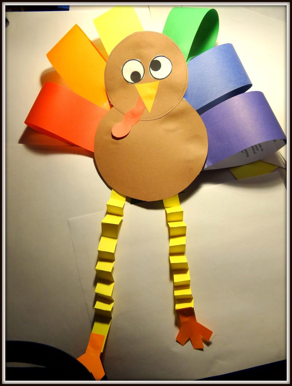Patties Classroom First Grade Turkey Activities