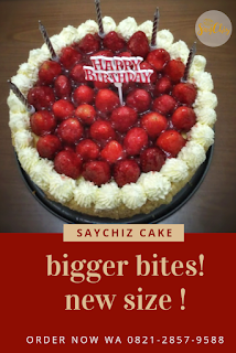 SayChiz 20cm Strawberry Cheesecake