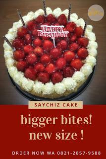 SayChiz 20cm Strawberry Cheesecake