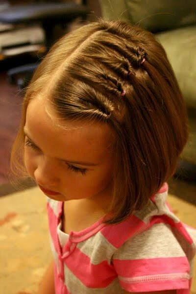 Hairstyles for Little Girls - Side Style