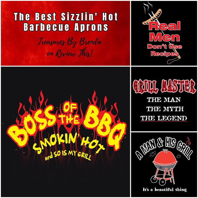 Love your grill? You need one of these sizzling hot barbecue aprons!