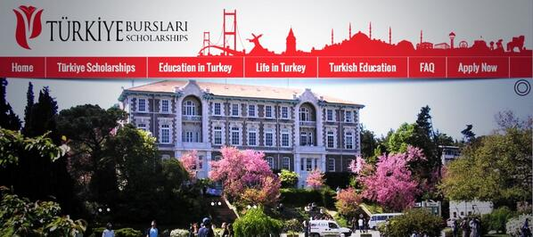 كيفية التسجيل في موقع المنح التركية Turkiye Burslari Scholarship