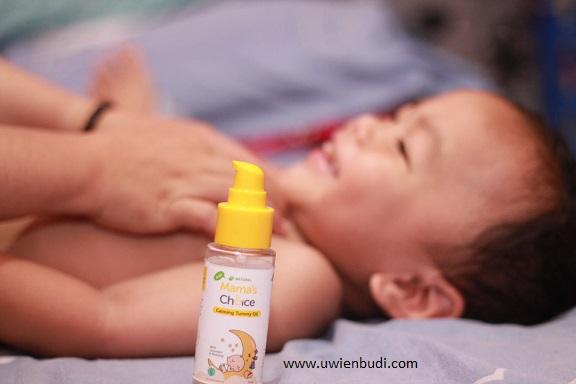 minyak pijat bayi yang lembut dan aman untuk kulit sensitif