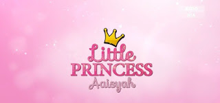Little Princess Aaisyah di Astro Ria