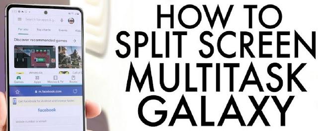 Split Screen on Galaxy S20