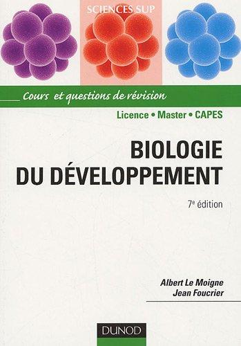 [PDF] Télécharger Livre Gratuit: Biologie du développement