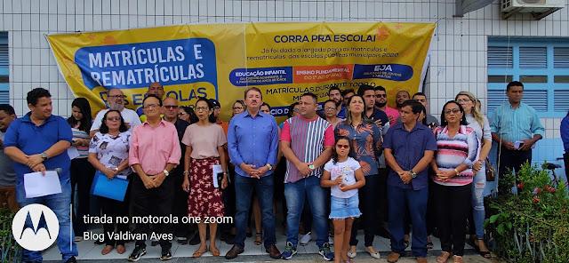 SEMED realiza solenidade de lançamento da Campanha 'Busca Ativa' 2020 em Chapadinha