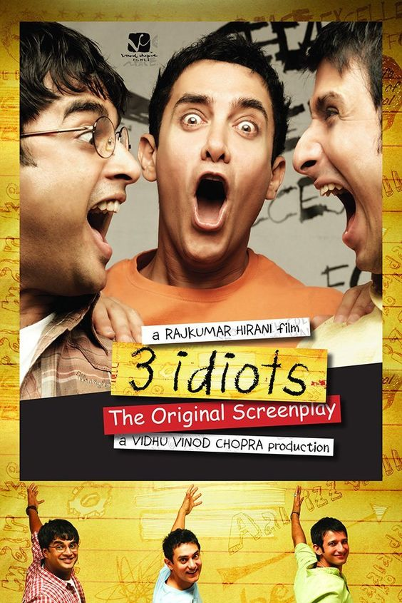 6 film terbaik India Sepanjang Masa : 3 Idiots