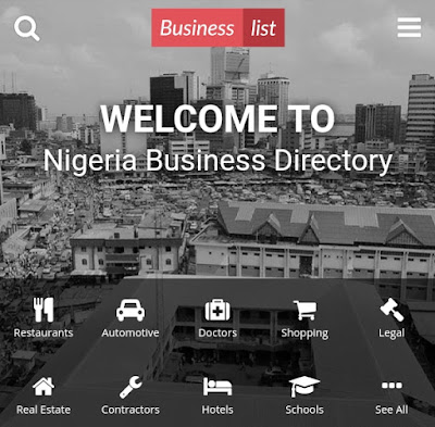 Business listing websites in Nigeria