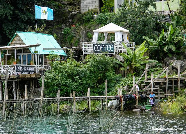 San Juan la Laguna, Lago de Atitlán, Guatemala
