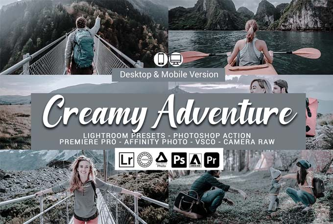 Creamy Adventure Presets