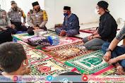 Lancarkan Program 4S, Kapolres Majene Sambangi TPA di Masjid Almujahid Desa Leppangan