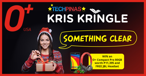 TechPinas Giveaway, O+ USA Giveaway, Kris Kringle