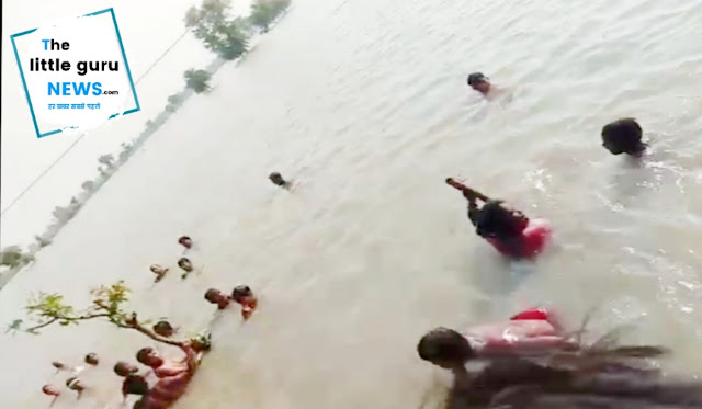 Teenager drowning at Bharauliya