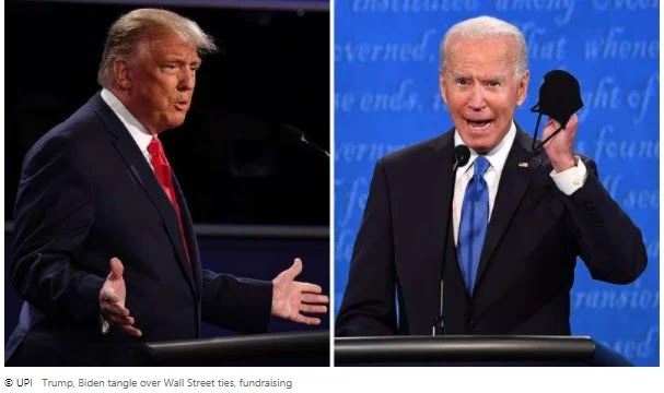 Trump, Biden's confusion over Wall Street relations, fundraising