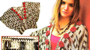 Chaleco con cintura Crochet / Paso a paso