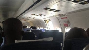 Confusion as airline tells passenger there's no ladder for passengers to alight plane at Lagos airport