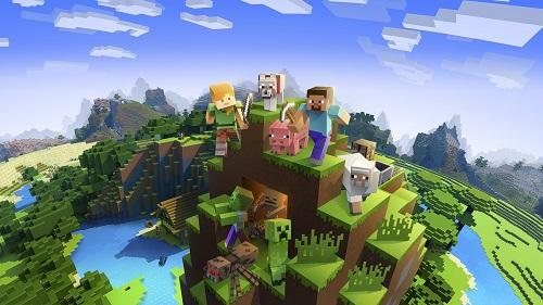 Trí tưởng tượng của game thủ được bay cao khi họ chơi Minecraft