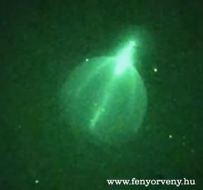 UFO teleportálás Melbourne felett?