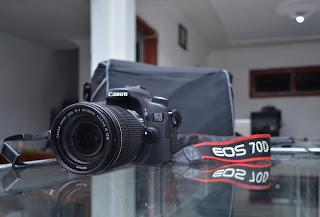 Jual Canon EOS 70D + Lensa 18-135mm IS STM