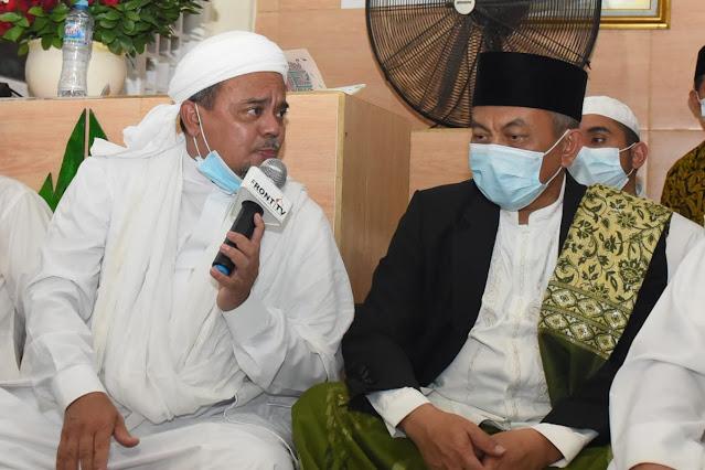 Habib Rizieq Diklaim Ada Sinyal Tertarik Gabung PKS